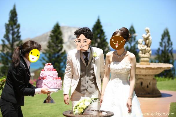 撮影用ケーキ登場